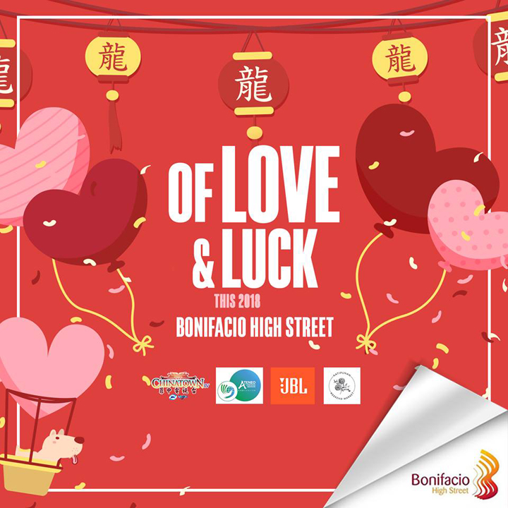Of love and luck: BGC holds jam-packed   Valentine's Day   and Chinese New Year weekend
