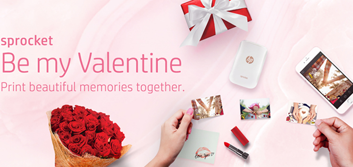 Capture the love this Valentine's day in fine print with HP!