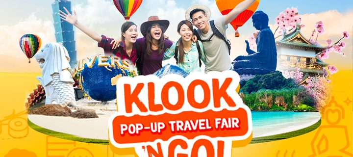 Alex Gonzaga promotes amazing deals in the Klook n' Go travel fair this Feb. 9-11!