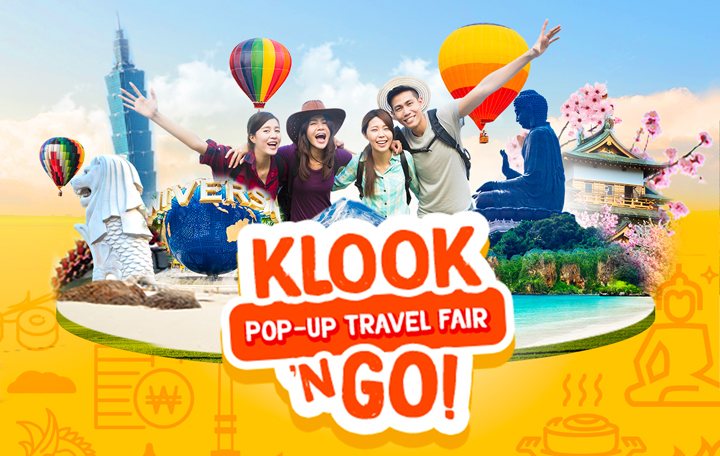 Alex Gonzaga promotes amazing deals in the Klook n' Go travel fair this Feb. 9-11!