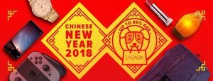 Lazada Chinese New year 2018