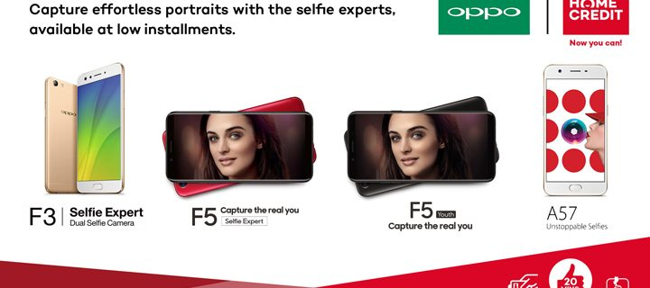 Get your loved one an OPPO phone through Home Credit this Valentine Season