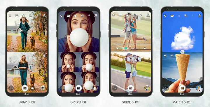 LG Q6+ Square Camera