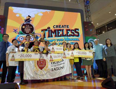Lyceum of the Philippines wins the 12th Goldilocks Intercollegiate Cake Decorating Challenge