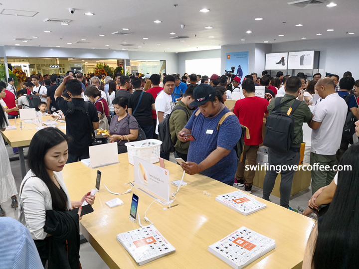 Xiaomi Mi Store at SM Megamall Interior