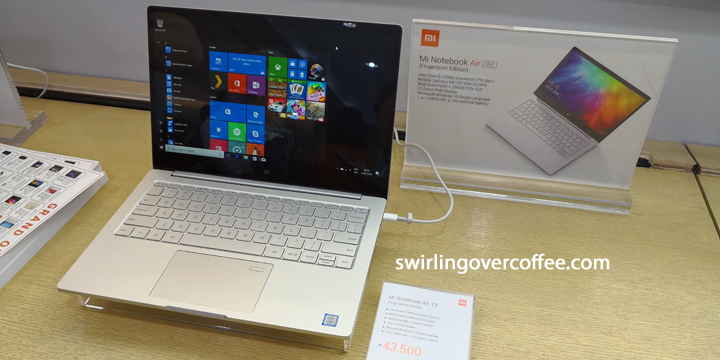 Xiaomi Mi Notebook Air 13.3 Fingerprint Edition