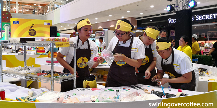 Lyceum of the Philippines won the 12th Goldilocks Intercollegiate Cake Design Challenge held at SM Megamall Fasion Hall on March 3, 2018.