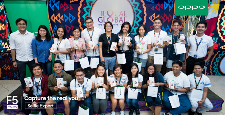OPPO donate F5 Youth units to Ideas Positive youth teams during boot camp