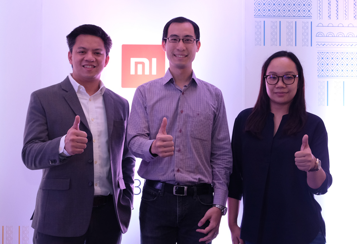 (Left to Right:) Ray Alimurung (Chief Business Officer for Brands and Retail, Lazada), John Chen (Director for Southeast Asia, Xiaomi), and Joyce Borlagdan (Brand Manager, Grimalkin Corporation).