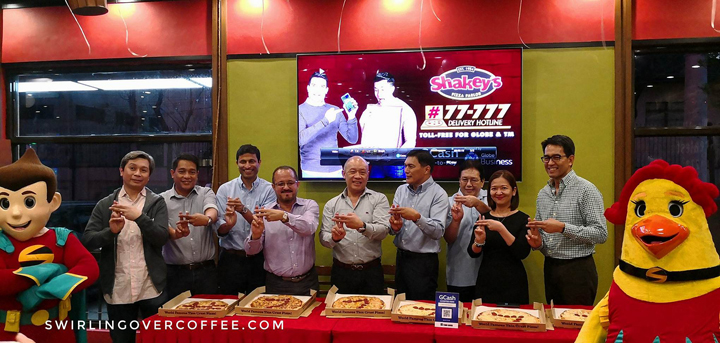 You can now use GCash at Shakey's