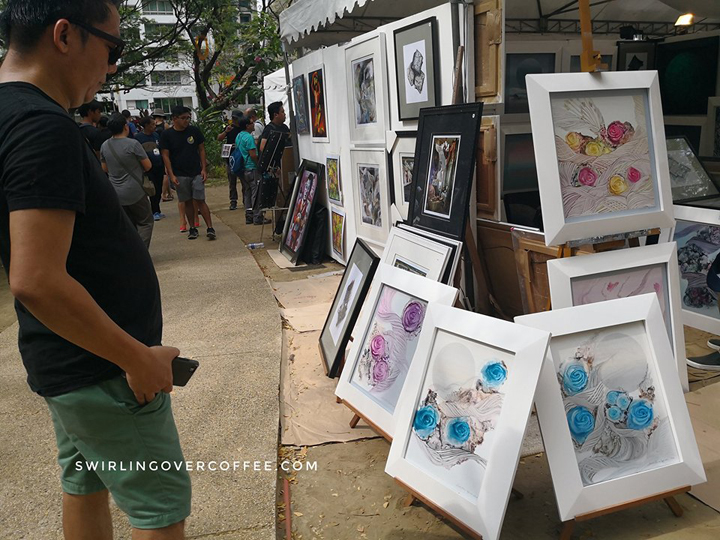 Hoppler at Art Fair Philippines 2018