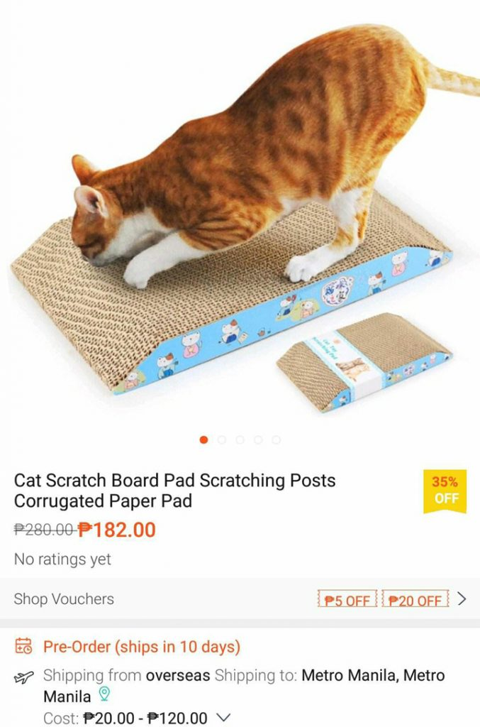 Cat Scratch Board Pad / Scratching Posts