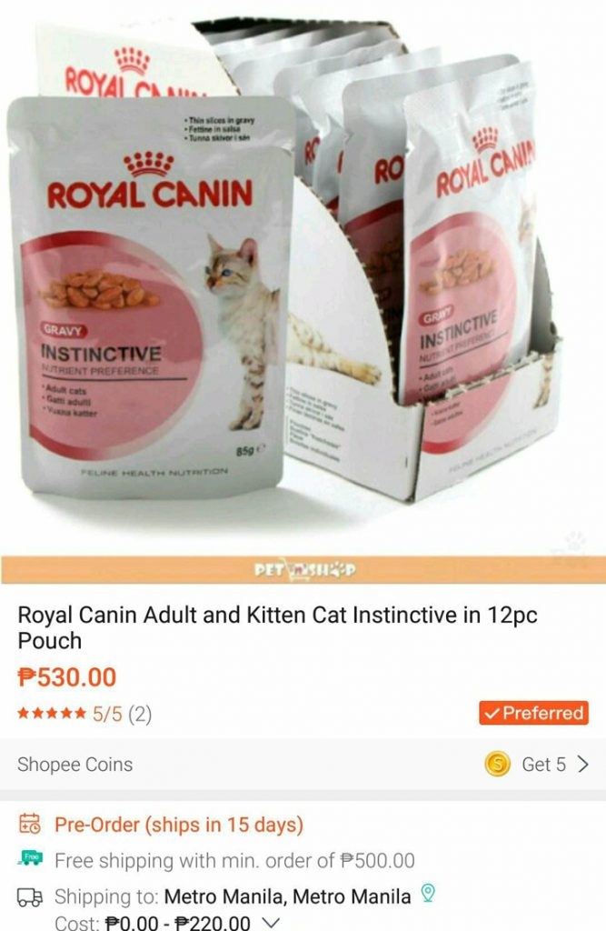 Royal Canin Adult Cat Instinctive