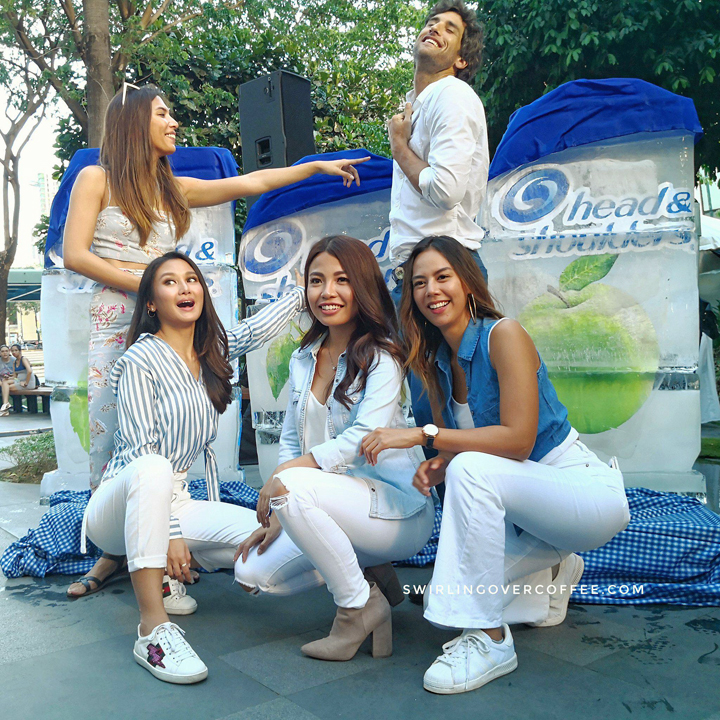 The Head & Shoulders Ambassadors proudly debut the newest summer variants that are set to give you your coolest summer yet, with the limited edition Head & Shoulders Apple Fresh, Lemon Fresh, and Cool Menthol. L-R Top: An Estrada and Nico Bolzico. L-R Bottom: Chie Filomeno, Michelle Dy, Janina Manipol.