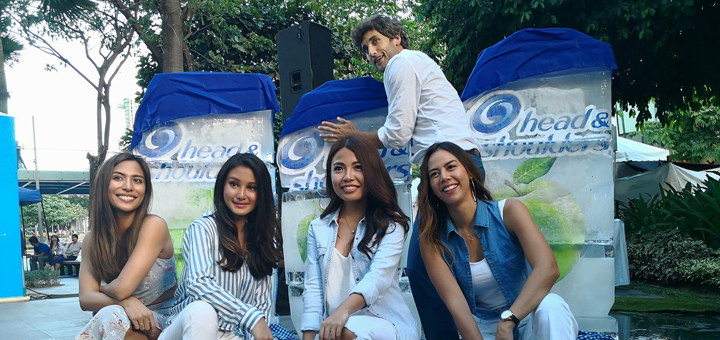 Don't let the summer heat get to you, stay cool with Head & Shoulders