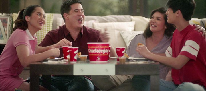 New Jollibee Chickenjoy TVC gives us a glimpse into the lives of Muhlach family