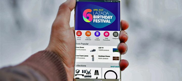 Get App-dated! Make the Most Out of your Lazada Shopping Experience in time for the 6th Birthday Sale