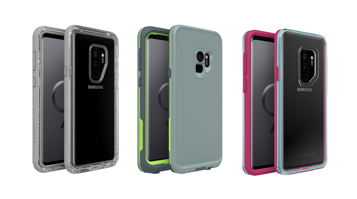 LifeProof Announces SLAM, NEXT, FRE for Galaxy S9, Galaxy S9+