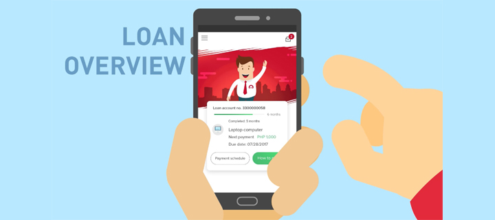 My Home Credit mobile app informs users about every aspect of their loans