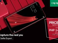 Get the OPPO F5 at Php 1,000 off (only P14,990) from April 6-9