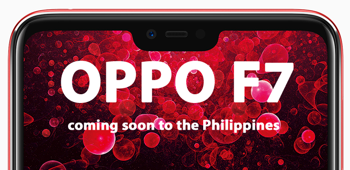 The OPPO F7's notch houses a 25MP A.I. Selfie Camera, launches in PH this April