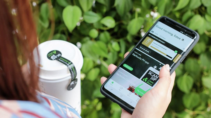 Starbucks PH app lets you pay with your phone, redeem rewards, and find the nearest store