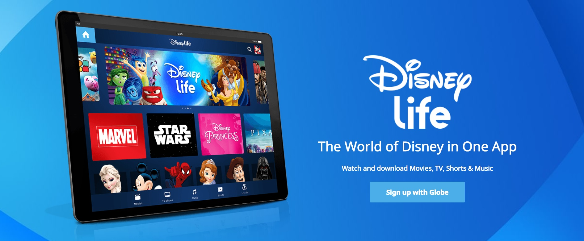 Globe Telecom Debuts DisneyLife in Asia