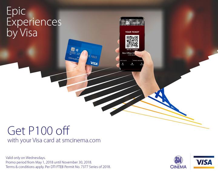 Epic Experience by Visa P100 off SM Cinema