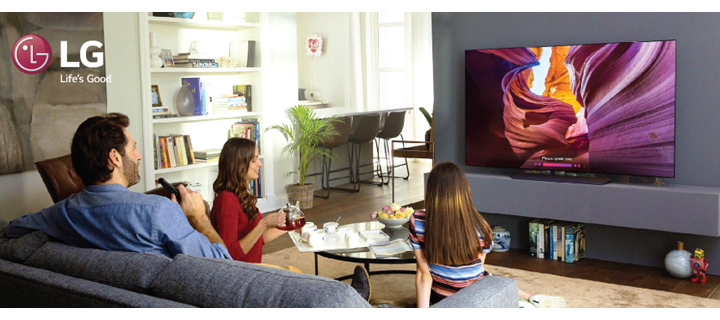 With LG, Create a Home That Brings Your Family Together