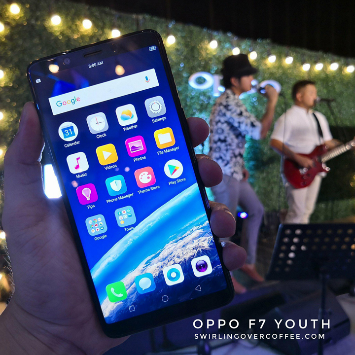OPPO F7 Youth pre-order buyers (starting May 28) get a free Olike Magic Music Lamp Bluetooth speaker