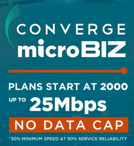 Converge Microbiz is the premium fiber internet designed to upgrade your business