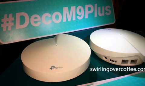 TP-Link Deco M9 Plus is both a Wi-Fi dead-zone killer and a Smart Hub