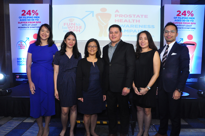 GlaxoSmithKline Philippines aims to raise awareness about Benign Prostatic Hyperplasia, a disease that affects men.