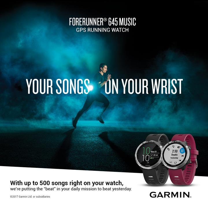 Garmin launches DescentTM Mk1 and Forerunning 645 active lifestyle watches in the Philippines.
