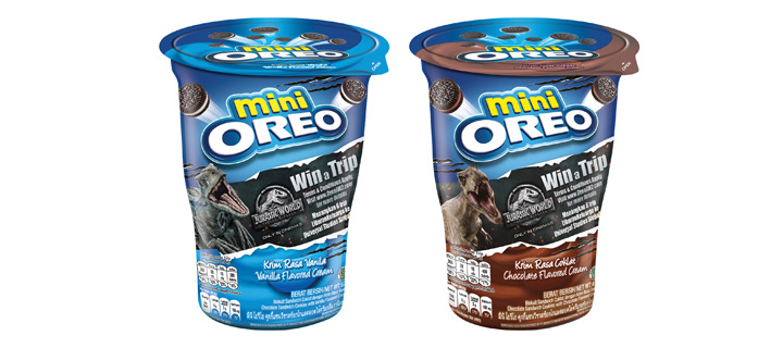 Mini OREO Limited Edition Jurassic World Pack 3