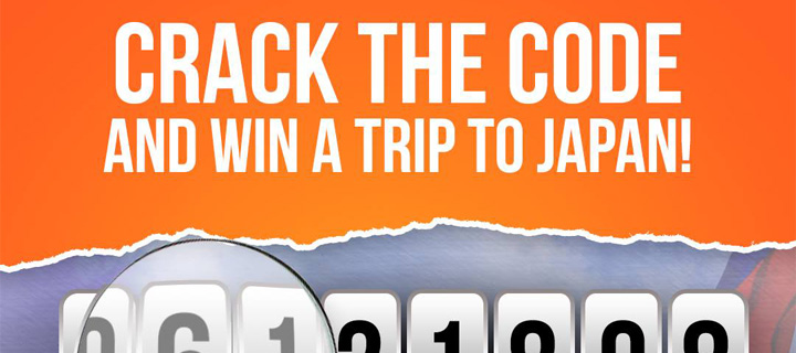 Win an all-expense trip for 2 to JAPAN! Valid until June 15
