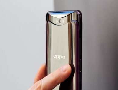 OPPO Find X uses pop up cameras to avoid having a notch