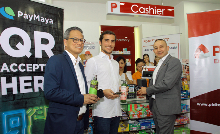 Rose Pharmacy accepts cashless payments through PayMaya