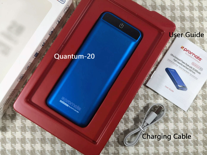Promate Quantum-20 Ultra-Compact 20,000mAh Powerbank Review