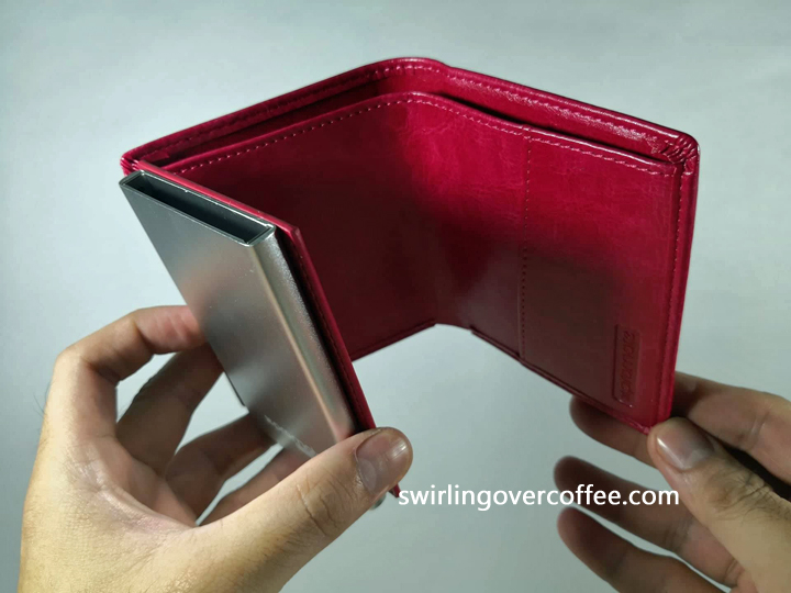 Promate RFID Safe Leather Slim Wallet with Aluminum Card Case, Promate RFID Safe Leather Slim Wallet with Aluminum Card Case Review, Promate RFID Wallet Review