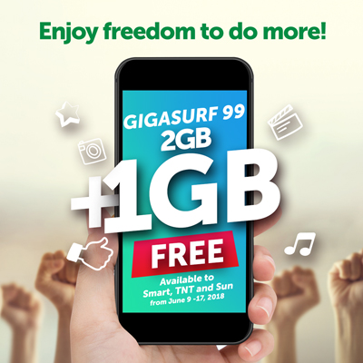 Smart Freedom Gigasurf99 3GB