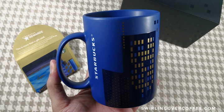 Starbucks Island Series feature mugs and cards from 3 Philippine island groups