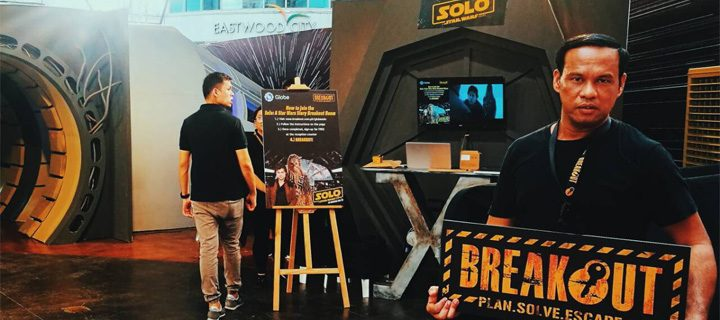 Conquer the SOLO: A Star Wars Story Breakout Room Challenge!
