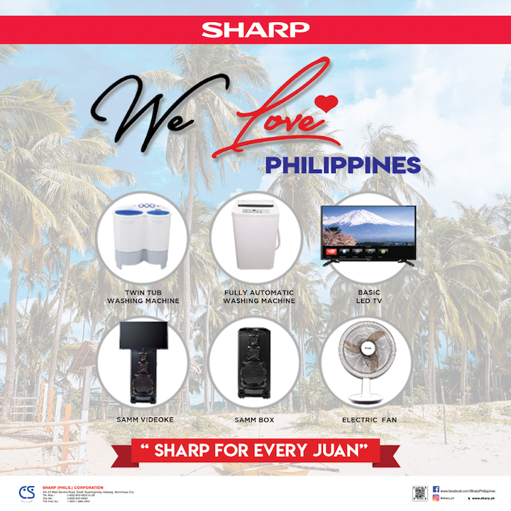 "Sharp Philippines launches ""We love Philippines"" Campaign, which run for 120 days"