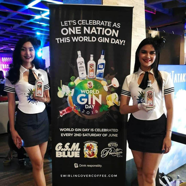 Ginebra San Miguel gathered top mixologists at Axon in Green Sun Hotel, Makati last June 7 to celebrate World Gin Day