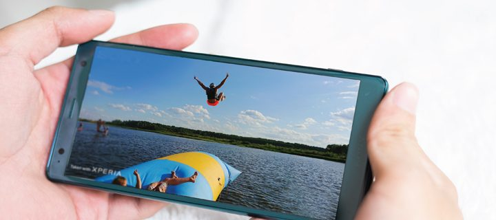 Top 5 tips on how to maximize your extreme adventures with the new Sony XZ2