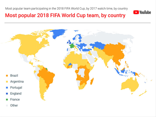 YouTube 2018 FIFA World Cup 1