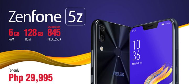 ASUS Philippines is opening the pre-orders for the heralded Zenfone 5Z!