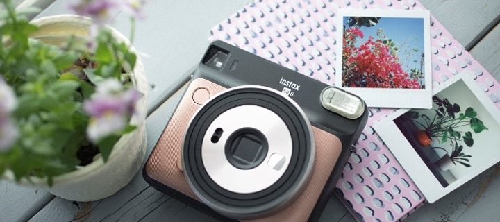 Get Squared! instax's comes with new stylish ways to make memories with SQUARE SQ6 and Solid Square 'BLACK'