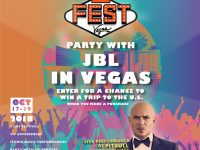 Discover true and pure sound at the JBL Fest 2018 in Las Vegas, Nevada, USA